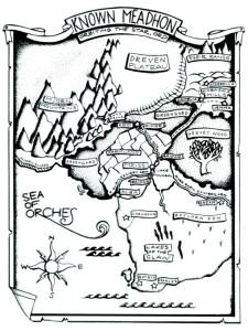 Map of Known Méadhon