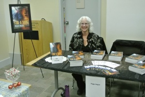 Peggy Hogan at Second Annual Moncton Library Author Faire