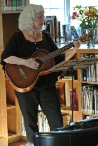 Peggy Hogan performs her original song