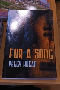 For a Song on display at Indigo, Charlottetown, PEI, May 2017