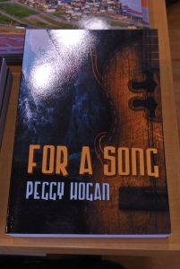 For a Song on display at Indigo, Charlottetown, PEI, May 2017